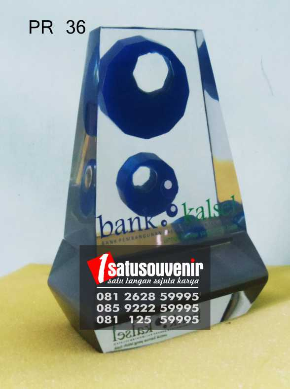 plakat resin PR36 plakat bank kalsel