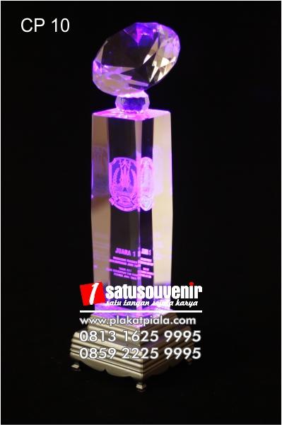 Plakat Kristal 3D Kejuaraan