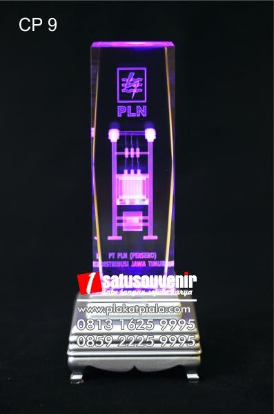 plakat kristal 3D trafo PLN