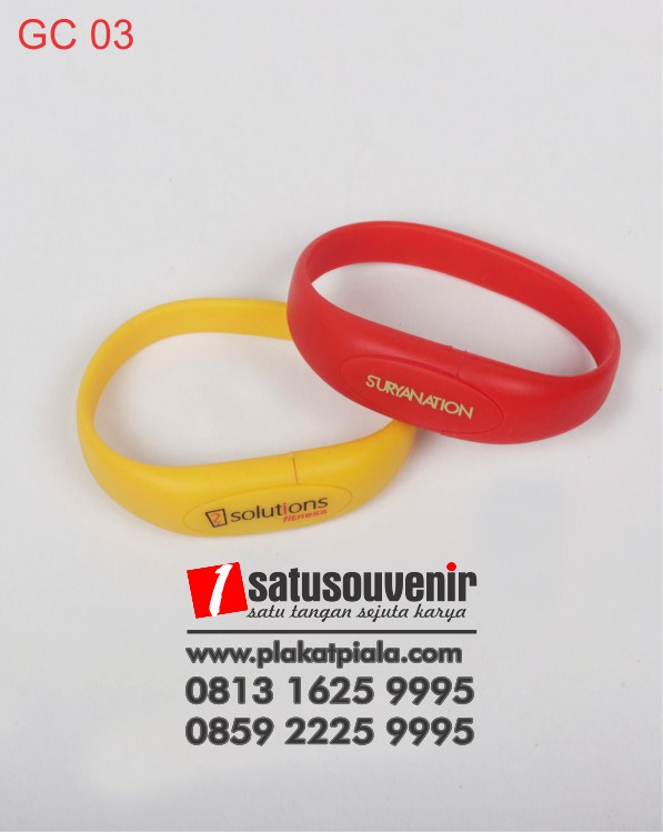 corporate gift Flashdisk promosi gelang flashdisk Promosi Custom