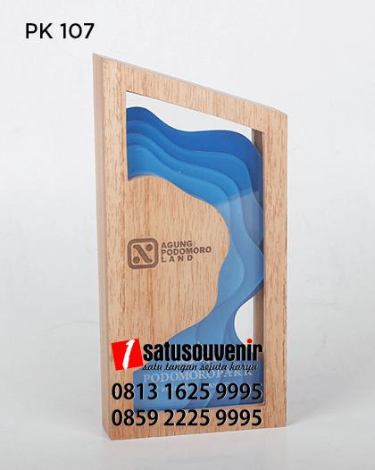 PK107 Plakat Kayu Agung Podomoro Land