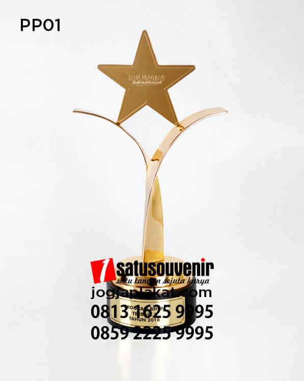 duplikat Piala | Piala Penghargaan BUMN Bentuk Bintang