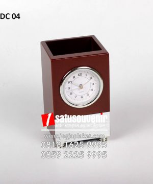 Jam Meja kotak Balok Custom - Desk Clock