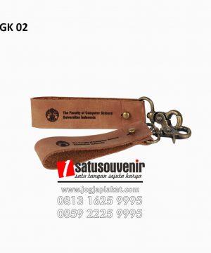 Gantungan Kunci Kulit Custom