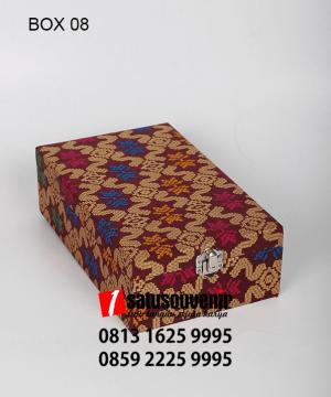 BOX08 Box Batik - BOX08 Box Batik | Kotak kado Motif Batik Elegan