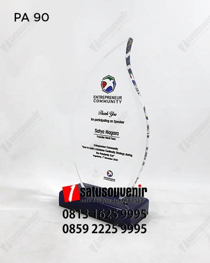 PA90 Plakat Akrilik Entrepreneur Community