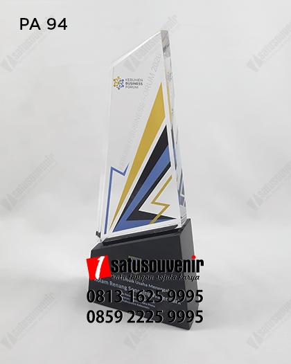 PA94 Plakat Akrilik Kebumen Business Forum 2020