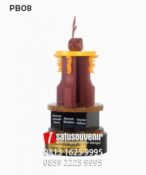 PB08 Piala Bergilir Hari Pramuka - Cara Membuat Piala dari Kayu