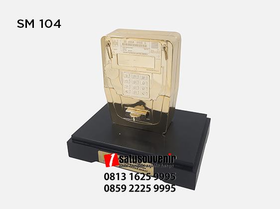 SM104 Souvenir Miniatur Meteran Listrik PT PLN Nusa Tenggara Barat