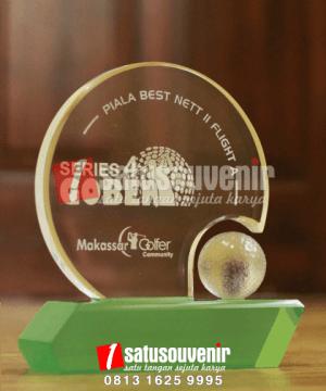 Plakat Piala Akrilik Golf