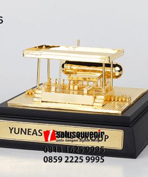 SM116 Souvenir Miniatur Pangkalan Gas LPG Yuneas Mebas Group
