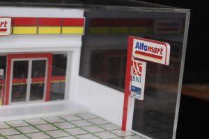 miniatur diaroma alfamart