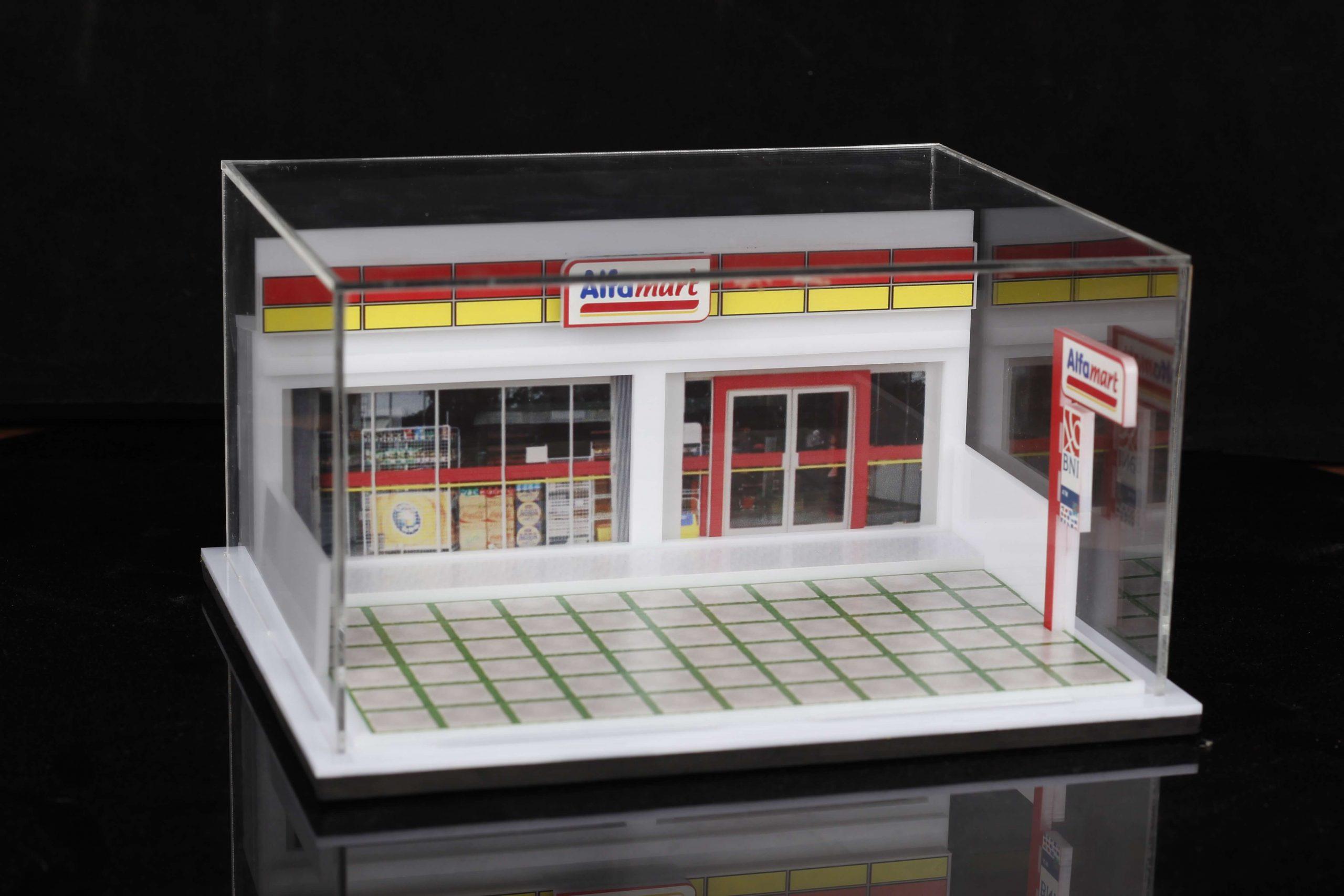 Proses Pembuatan Diorama / Miniatur dari Akrilik Keren Banget!!